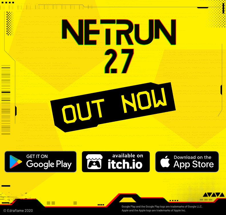 Netrun27 Released on Google Play, Apple App Store, and Itch.io